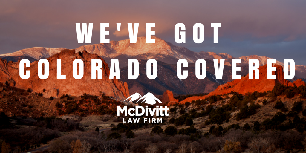 McDivitt Law Firm Multiple Colorado Locations