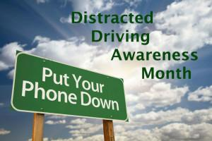 McDivitt Distracted Driving Month