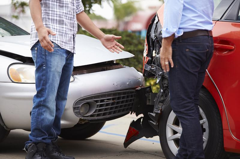 What to do when in car accident