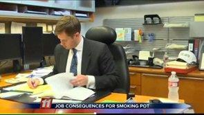Marijuana Shop Opening and Employment Consequences