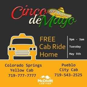 Safe Ride Cinco de Mayo