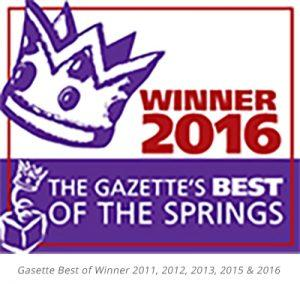 Best of the Springs 2016 Winner - Best Lawyer