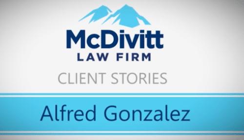 Law firm testimonial - Mr. Gonzalez
