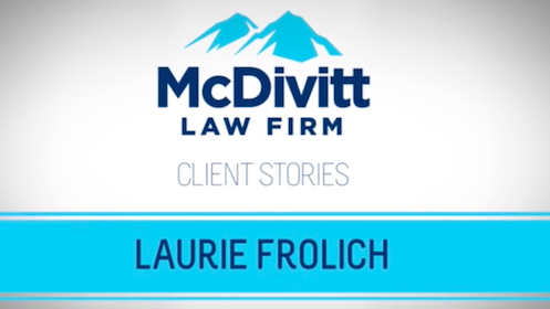 Video Client Testimonial for McDivitt Law Firm