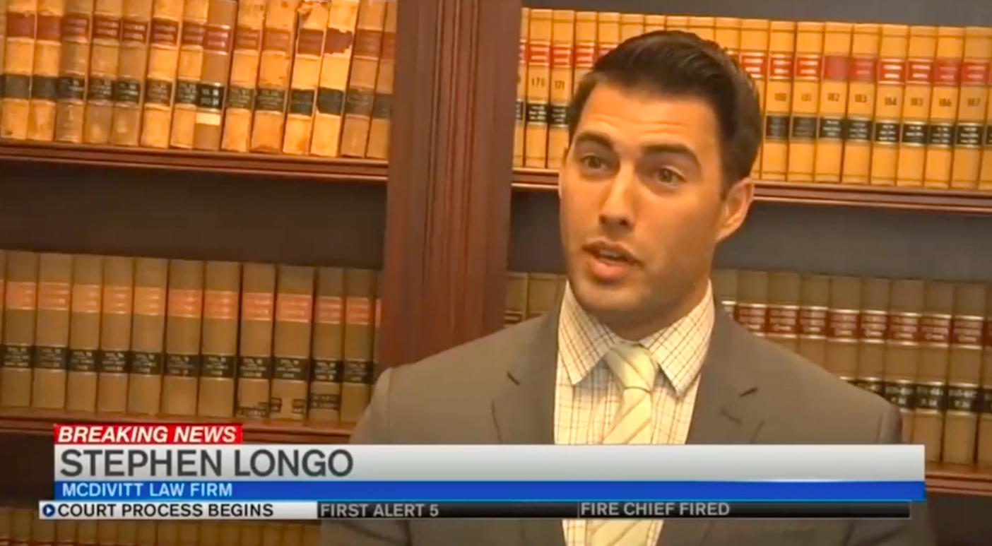 Longo discusses charges