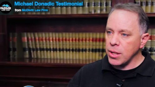 Testimonial for McDivitt Law Firm