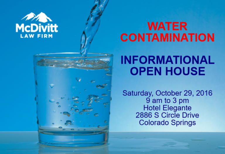 Contaminated Water Lawsuit Open House